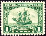 Mayflower 1 cent