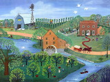 Old mill stream - Linda Mears