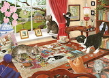 Puzzling Paws - Tracy Hall