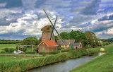 Windmill Netherlands - Photo by Lê Tuấn Hùng id-1592870 from