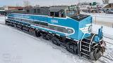 Central Maine and Quebec AC44CW Locomotive Train