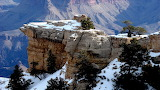 Winter in the Grand Canyon Arizona USA