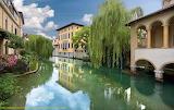 Friuli Italy Sacile paesaggio-e-fiume-Livenza