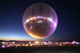 Inflatable Reflective Sphere