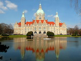 Hannover-Neues Rathaus-Germania