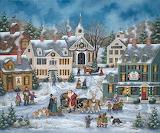 Christmas Folk Art by Bonnie White @ Pinterest...