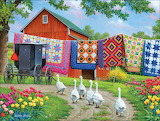 Airing the Quilts~ JohnSloane