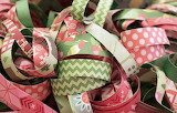 Colored ribbons, decorations