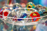 Balls, glass marbles