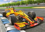 Racing-bolide-on-track