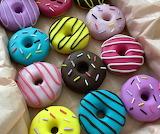Polymer Clay Doughnuts