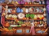 In Mum's kitchen