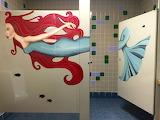 Mermaid bathroom© Herb Ascherman