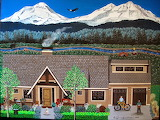 ^ Bates Home Portrait, Oregon ~ Jennifer Lake