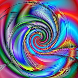 colourful whirlwind