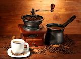 Un p'tit café grand-mère ...