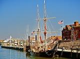 Formidable Tall Ship at Long Wharf