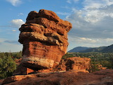 """Famed """"Balanced Rock"""" Garden of the Gods Colorado Springs"""