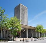 E D Stone, State Quad dormitory SUNY Albany, Albany New York