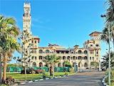 Palace and gardens Al-Muntazah Alexandria Egypt