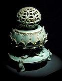 Goryeo era celadon incense burner in the National Museum - Seoul
