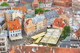Dom's Square, Riga, Latvia
