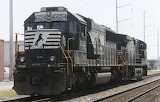 Trains - Norfolk Southern Railway - Norfolk, Virginia