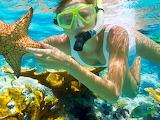 Woman-girl-scubadiving-water-star-sea