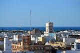 Cádiz, Vistas desde la Torre de Poniente
