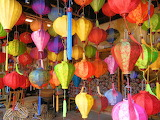 Rainbow Colors of Lanterns
