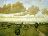 Landscape - Hans Thoma 1917