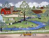 Dairy farm-Linda Mears
