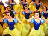 Colours-colorful-Disneyland-Snow White-figurines