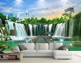 room Wallpaper nature design