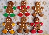 Winter Christmas Gingerbreadmen