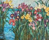 Irises by Nadya Stupina