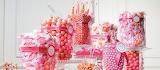 Pink Event Candy Bar