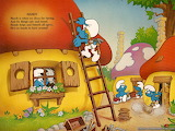 The-smurfs-working-