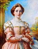 Portrait of Beatrice~ Thomas Francis Dicksee