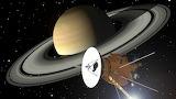 Planeta y nave espacial