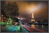 Paris-tour Eiffel-nuit