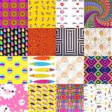 Repetitive Design Funny Collage