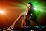 Smile Headphones DJ deejay Music Girls