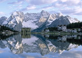 Mountain Reflections in the Alpes