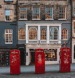 Shop Royal Mile Edinburgh Scotland