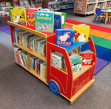 The Book Bus and Children's Room at Orkney Library