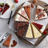 ^ Cheesecake slices