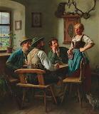 At the inn by Emil Rau