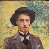 Georges-Antoine Rochegrosse, Portrait de jeune homme, 1900