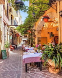 Small street in Chania old town